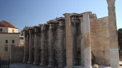 Hadrian's Library Stock Footage