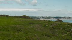 Jersey View Over St Helier Stock Footage