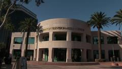 Academy of Television Arts & Sciences Exterior Stock Footage
