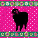 Stock Illustration of Retro sheep