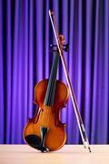 Musiikin käsite viulu Kuvituskuvat