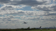Stock Video Footage of Airplanes Landing on Airport Runway, Planes
