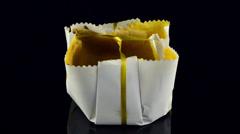 Sponge cake Stock Footage
