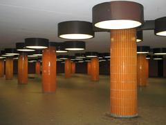 Berlin alexanderplatz underground Stock Photos