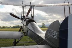 B.E.2f biplane. Stock Photos