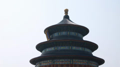 At the temple of heaven in beijing china Stock Footage