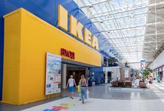 ikea samara store - stock photo