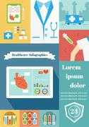 Healthcare of life - stock illustration