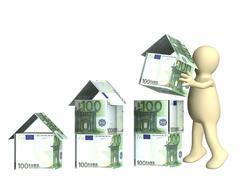 Building business - stock illustration