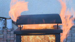 Fire Pit - stock footage