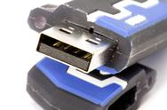 Stock Photo of USB flash memory