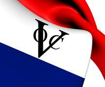 Stock Illustration of flag of dutch east india company