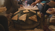 Stock Video Footage of Middle Eastern Homemade Recipe