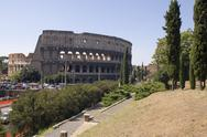 Stock Photo of Rome amphitheater