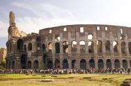 Stock Photo of Coliseum in Rome Italy