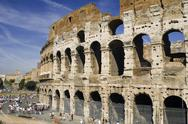 Stock Photo of Coliseum in Italy Rome