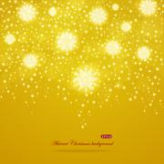 Abstract shiny Christmas background Stock Illustration