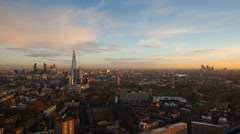 4K London sunrise Stock Footage