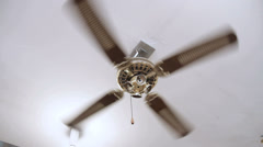 ceiling Fan - stock footage