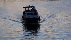 Boat on the Spree, UHD 4K Stock Footage