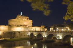 Castle Sant Angelo - stock photo