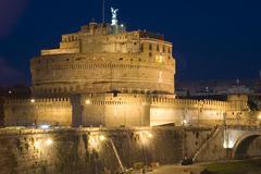 Castle Saint Angelo - stock photo