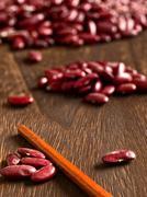 bean counter - stock photo