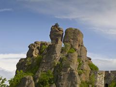 Bulgarian wonders – a beautiful view - phenomenon of Belogradchik rocks Stock Photos