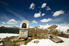 Stock Photo of christianity on the summit