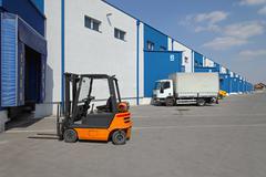 Logistics transport Stock Photos