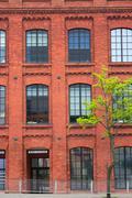 brich building - stock photo