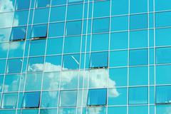 glossy building - stock photo