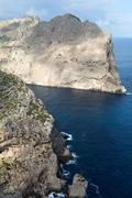 Cape formentor on majorca, balearic island, spain Stock Photos