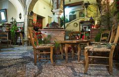 Cordoba tea shop - stock photo
