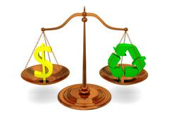 Justice and ecology Stock Photos