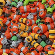 Hose fittings Stock Photos