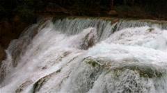 Cascada de Minas Viejas Stock Footage