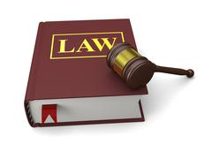 Law book Stock Photos