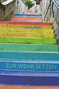 Holsteiner Treppe - stock photo