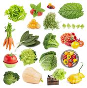 Collection of vegetables - stock photo