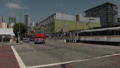 LA Fire Department Paramedic Unit 02 Stock Footage