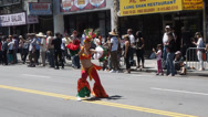 Stock Video Footage of 2014 San Francisco Carnaval Grand Parade