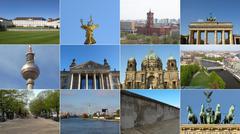 Berlin landmarks - stock photo