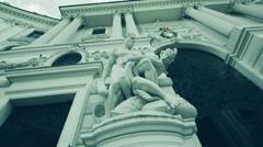 Austria Vienna Hofburg  Kaiserappartements Stock Footage