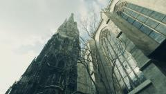 Austria Vienna St Stephens Cathedral Stock Footage