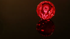 Red Gem Twinkle - stock footage