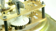 Stock Video Footage of clockwork - macro shot