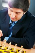 FIDE Grand Master Vugar Gashimov (World Rank - 12) from Azerbaij Stock Photos