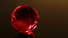 red gem twinkl - stock footage