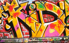 Urban graffiti Stock Photos